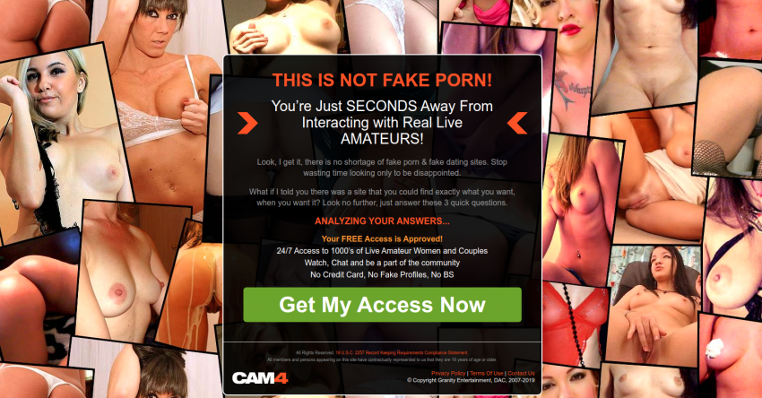 cam4.com screenshot